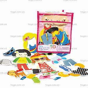 Игровой набор для ванной «Модные наряды», MK 030, детские игрушки