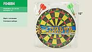 Игровой набор для игры в дартс, F04884, фото