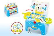 Игровой набор доктора - стол, инструменты, 660-40A, фото