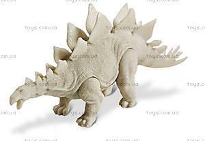 Игровой набор ДиноАрт «Разукрась Стегозавра», CL300K, детские игрушки
