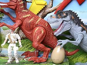 Игровой набор «Динозавры», с аксессуарами, 800-54, детские игрушки