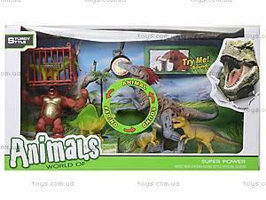 Игровой набор «Динозавры», со светом и звуком, 800-73, фото