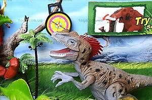 Игровой набор «Динозавры», со светом и звуком, 800-73, игрушки
