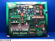 Игровой набор «FARM WORLD» с трактором, 0046A-B