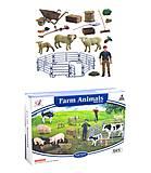 Игровой набор «Ферма» с овечками и фермером, Q9899-ZJ67, отзывы