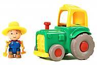 Игровой набор «Фермер и трактор» зеленый, 400-CA-018, фото