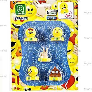 Игровой набор фигурок-штампов «Веселое настроение», PMI5040