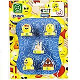 Игровой набор фигурок-штампов «Веселое настроение», PMI5040, купить