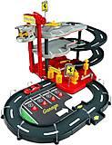 Игровой набор «Гараж Феррари», 18-31204, детские игрушки