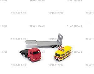 Игровой набор «Городской автотранспортер», SB-15-04-WB, toys