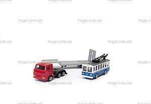 Игровой набор «Городской автотранспортер», SB-15-04-WB, іграшки