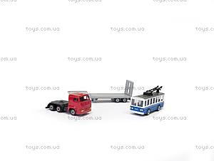 Игровой набор «Городской автотранспортер», SB-15-04-WB, детский