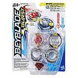 Игровой набор Hasbro Beyblade Spryzen vs Odax 2 Волчка , B9491_B9493, детские игрушки