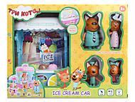 """Игровой набор """"Три Кота. Ice Cream Car"""", M-8808, фото"""