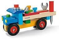 Игровой набор Janod «Машинка с инструментами», J05022, фото