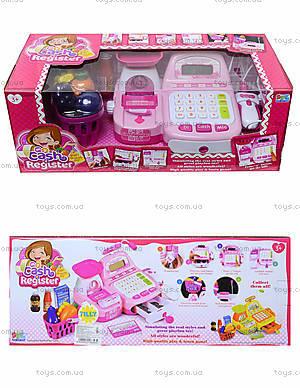 Игровой набор «Кассовый аппарат», с продуктами, 16656B