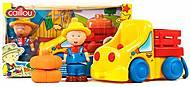 Игровой набор «Каю-фермер и грузовик» красный кузов, 400-CA-007_чер, фото