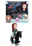 Игровой набор «Кукла с лошадкой», ZT8813, купить