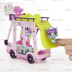 Игровой набор Littlest Pet Shop «Автобус», B3806, фото