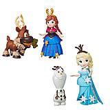 Игровой набор «Маленькие куклы Холодное сердце», B5185, toys.com.ua