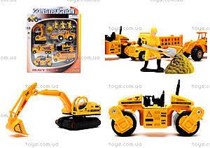 Игровой набор машин «Строительная техника», PT2020