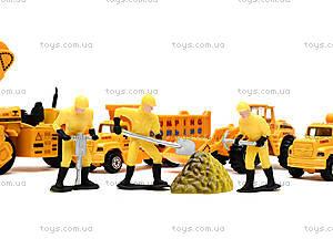 Игровой набор машин «Строительная техника», PT2020, детские игрушки