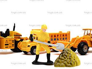 Игровой набор машин «Строительная техника», PT2020, toys.com.ua