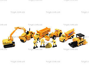 Игровой набор машин «Строительная техника», PT2020, toys
