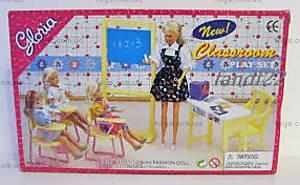 Игровой набор мебели «Классная комната», 9916, купить