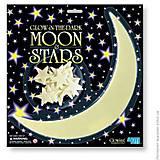Набор светящихся наклеек «Месяц и звезды», 00-05215, фото
