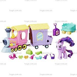 Игровой набор My Little Pony «Поезд Дружбы», B5363, купить