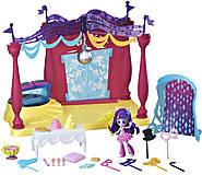 Игровой набор мини-кукол Equestria Girls «В школе», B6475, фото