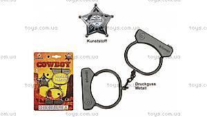 Игровой набор «Наручники и значок Шерифа», 323/0, купить