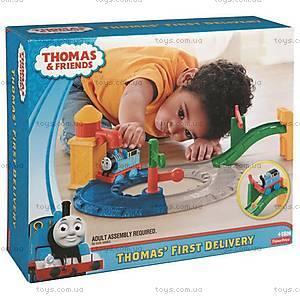 Игровой набор Паровозик Томас «Первая железная дорога», BCX80