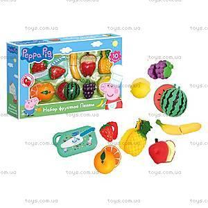 Игровой набор Peppa «Набор фруктов Пеппы», 30220, купить