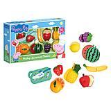 Игровой набор Peppa «Набор фруктов Пеппы», 30220, отзывы
