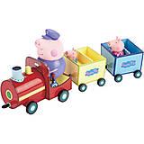 Игровой набор «Паровозик дедушки Пеппы», 20829, купить игрушку