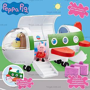Игровой набор Peppa «Самолет Пеппы», 06227, детские игрушки