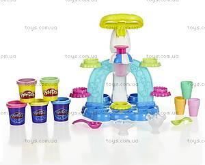 Игровой набор пластилина Play-Doh «Фабрика мороженого», B0306, фото