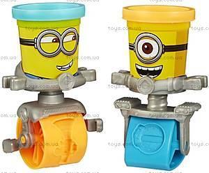 Игровой набор Play-Doh «Гонки миньонов», B0788, фото