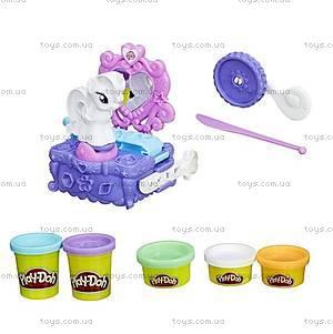 Игровой набор Play-Doh «Туалетный столик Рарити», B3400, купить