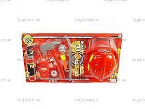 Игровой набор пожарника для малышей,