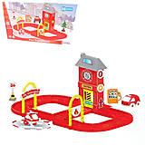 Игровой набор «Пожарный участок с дорогой», 861, тойс