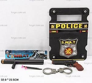 Игровой набор «Полицейский», 6006-4
