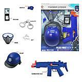 """Игровой набор """"Полиция"""" YUE QIANC (P017), P017, детские игрушки"""