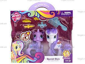 Игровой набор «Пони с аксессуарами», 035, цена