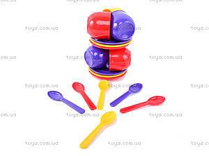 Игровой набор «Посуда», 18 предметов, Юника, доставка