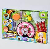 Игровой набор продуктов «Playhouse» с досточкой, 551-10А, фото