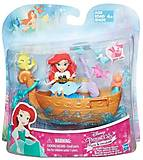 Игровой набор «Принцесса Ариель и лодка», B5338/B5339EU4, детские игрушки