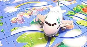 Игровой набор Puzzle Pilot «Аэробус (Джумбо)», 100531, цена